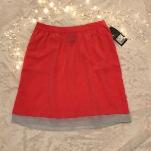 🌵Mossimo Coral and Gray Skirt